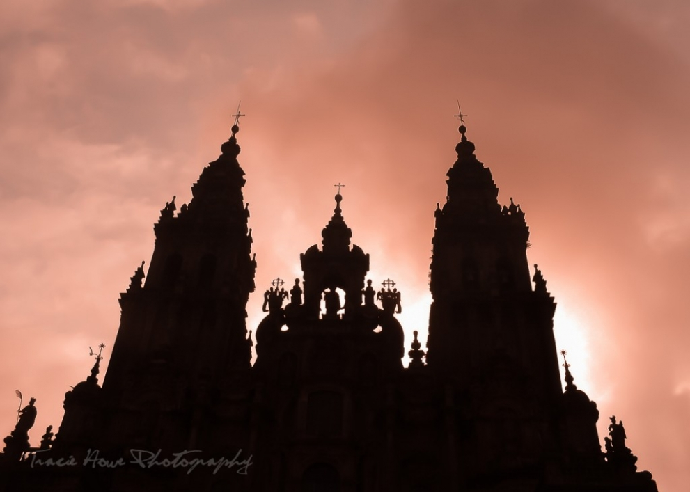 photographing Santiago de Compostela