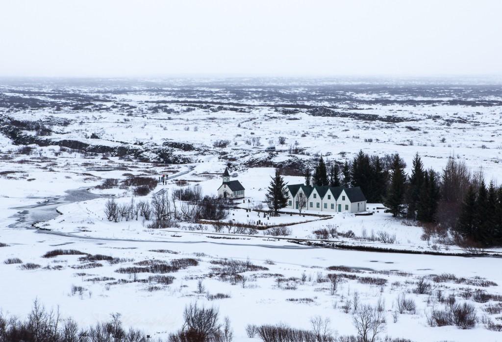Þingvellir Iceland winter