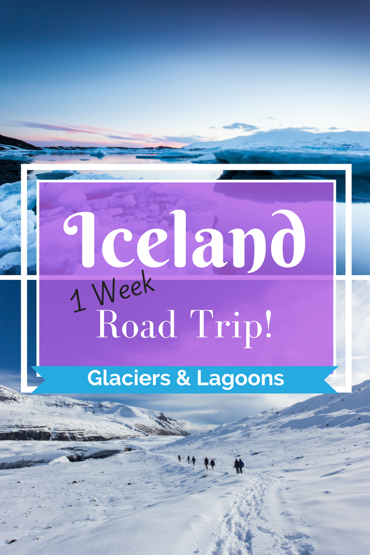 Iceland Road Trip Adventure - winter drive, glaciers & Jökulsárlón | Day 3 - Tracie Travels