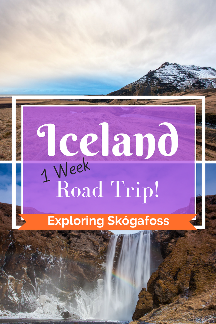 Iceland Road Trip Adventure | Day 2 - winter travel and Skogafoss - Tracie Travels