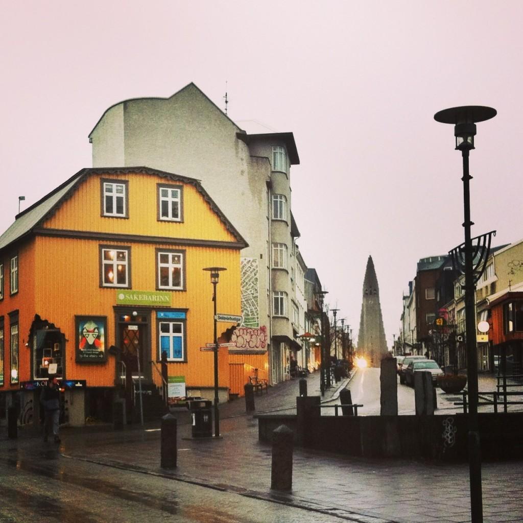 Reykjavik downtown stroll