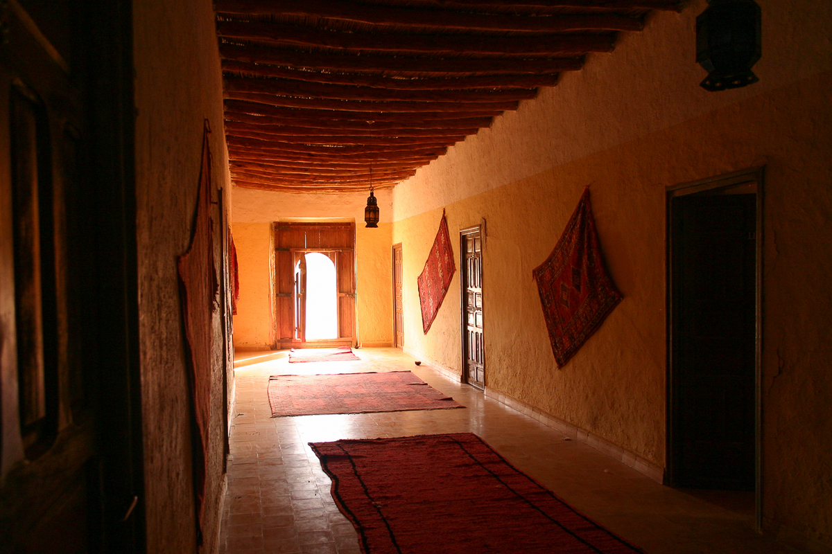 Inside a Saharan Kasbah