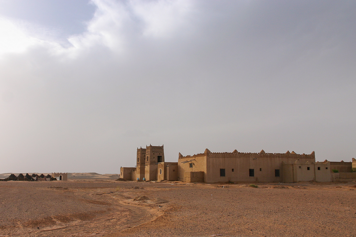 Sahara Desert kasbah