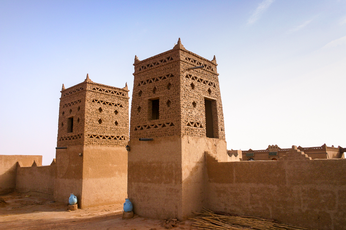 Our Kasbah in the Sahara
