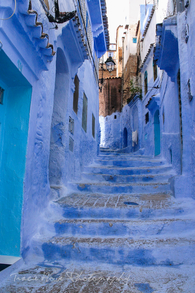 Blue Chefchaouen in Morocco