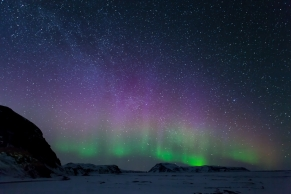 photographing Northern Lights Iceland