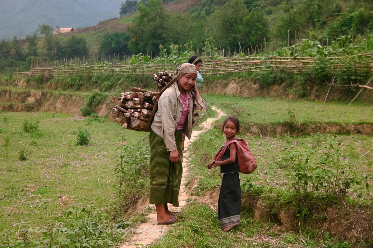 Exploring Mong Ngoi, Laos