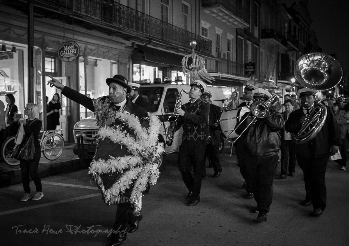 New Orleans Jazz band parade