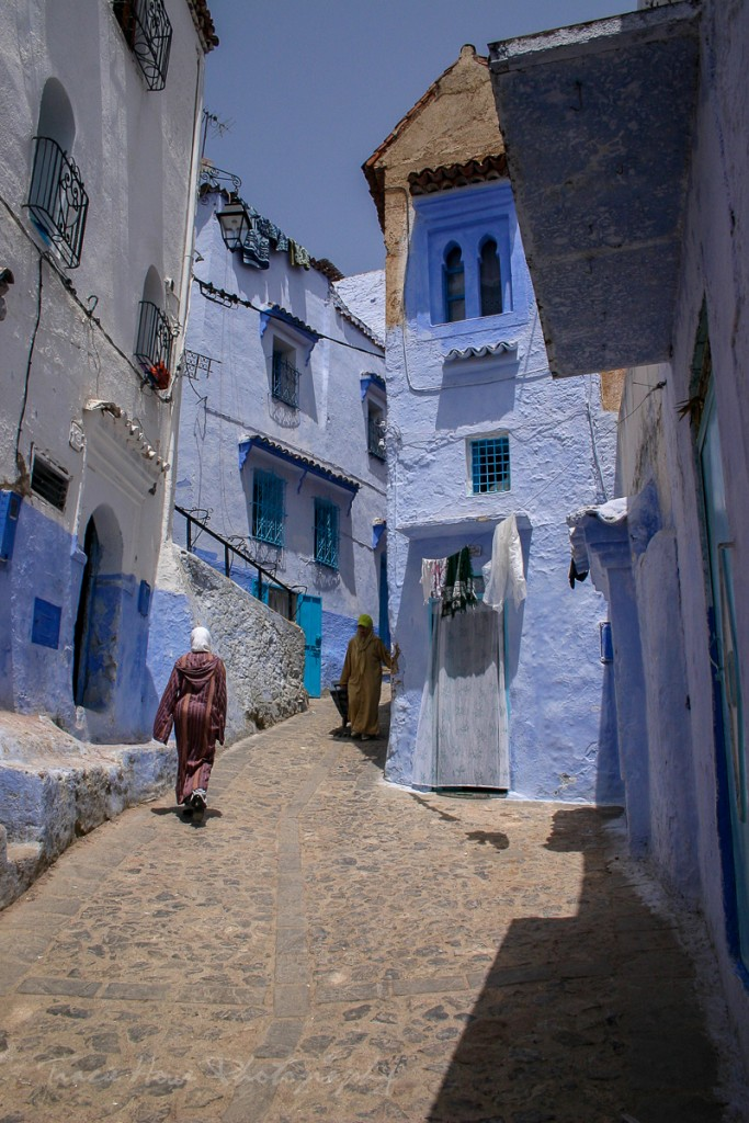 visit Chefchaouen blue city