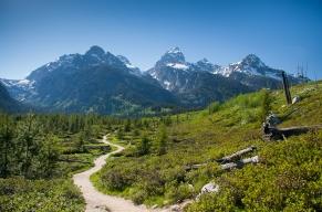 Take a hike in Grand Tetons