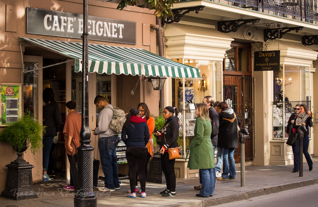 one day to visit New Orleans Cafe Beignet