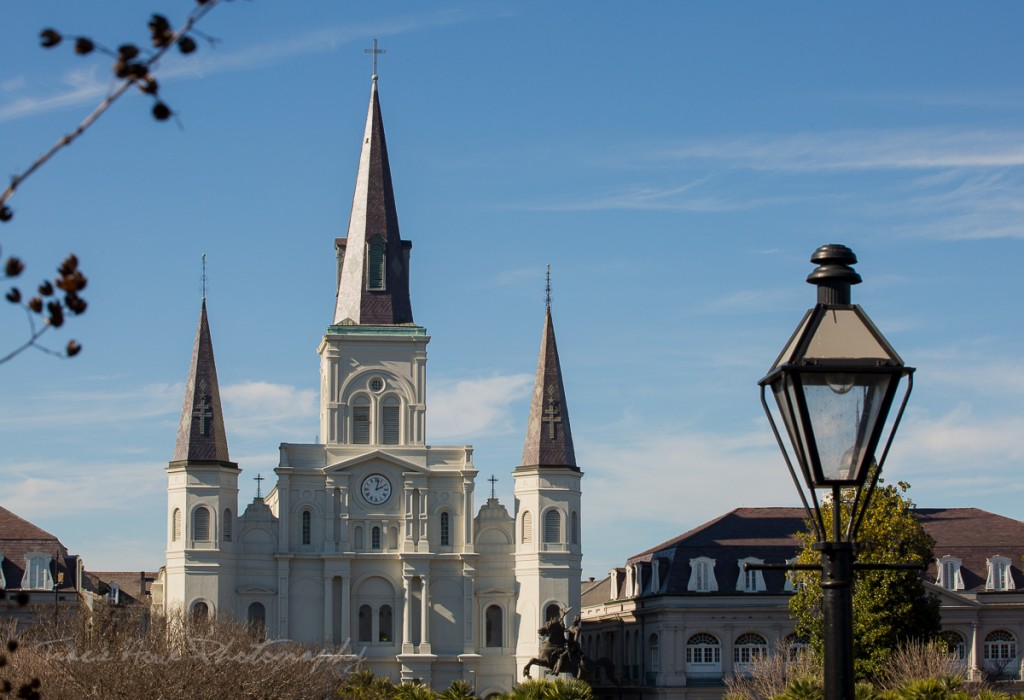 one day to visit New Orleans Jackson Square