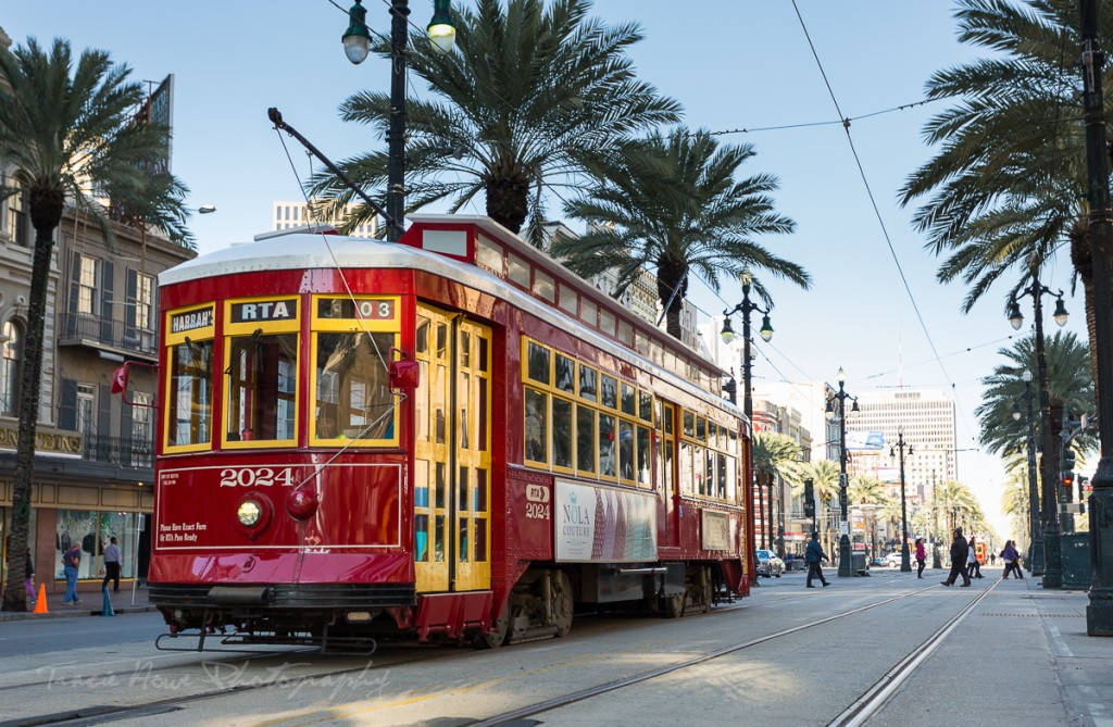 one day to visit New Orleans street car
