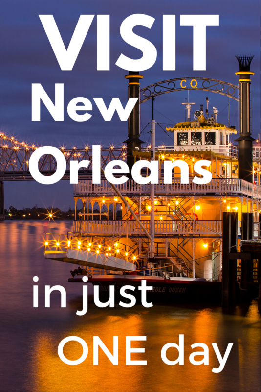 Visit Nola in just 1 day | Tracie Travels