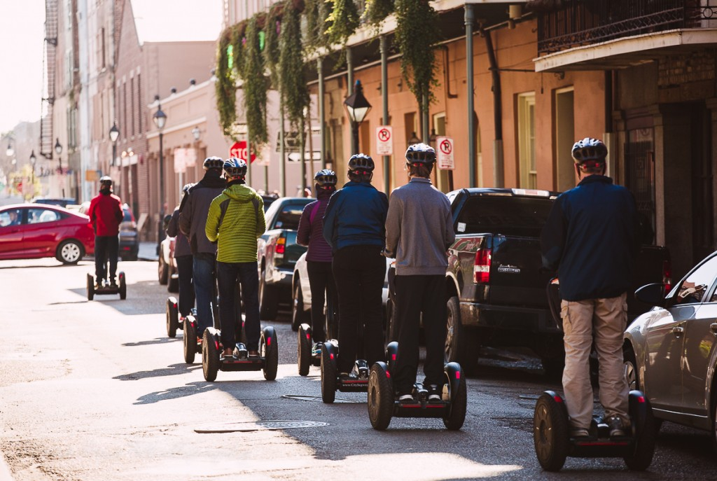 New Orleans segway