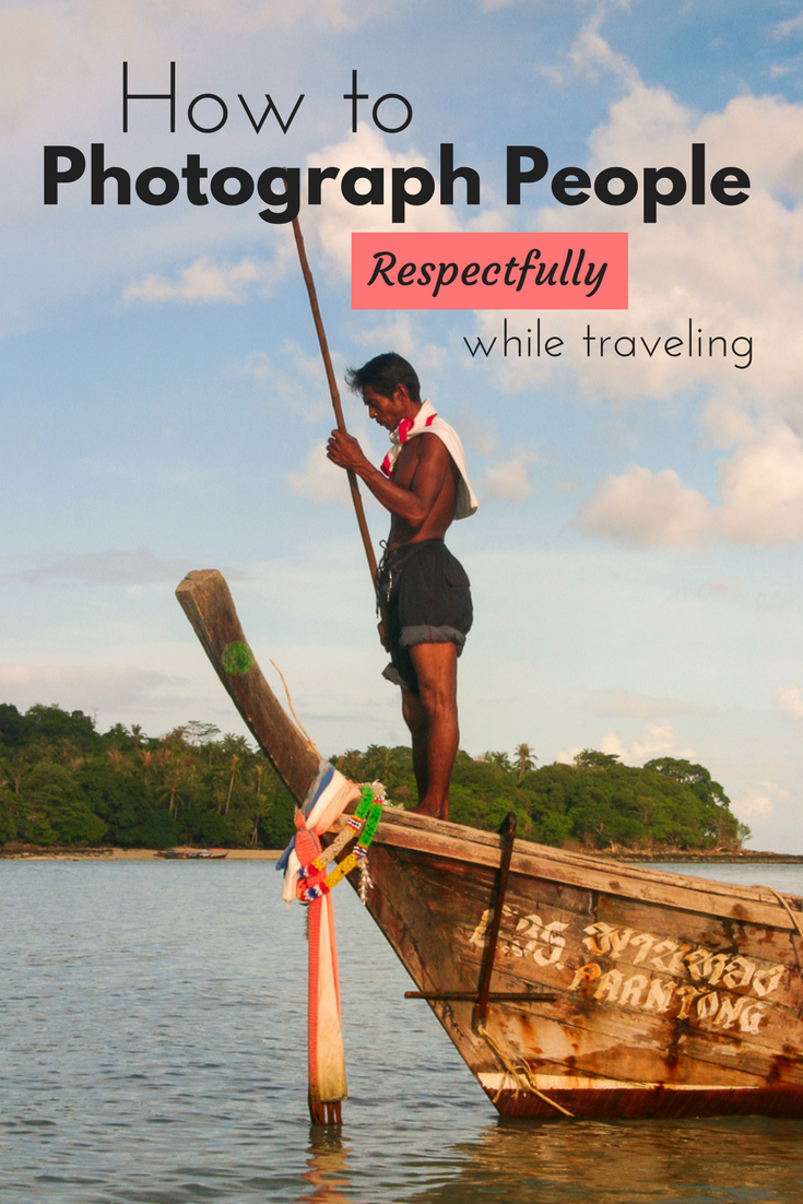 How to photograph people respectfully | Tracie Travels