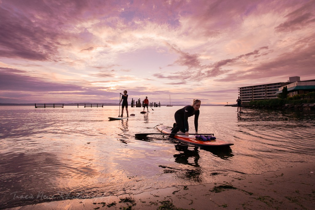stand up paddle boarding Seattle