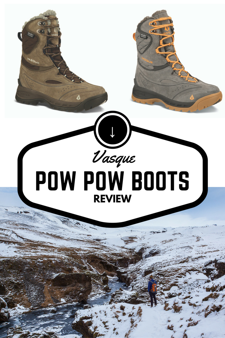 Vasque Pow Pow boots review | Tracie Travels