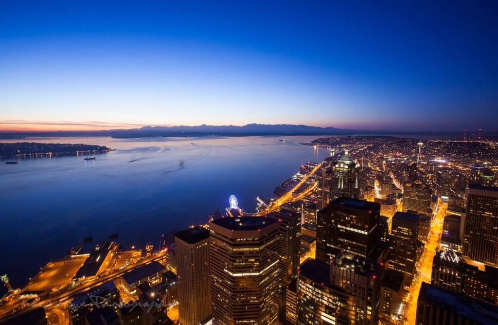 Skyview Observatory best Seattle viewpoint