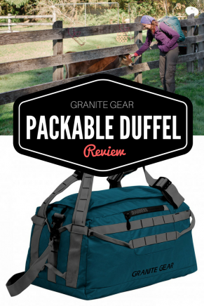 Granite Gear packable duffel review | Tracie Travels