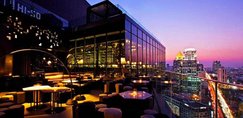 The Park Society Terrace. Image provided by Sofitel So Bangkok.