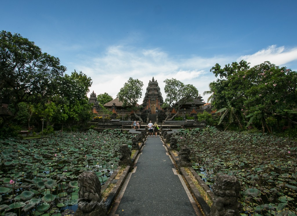 The Saraswati Water Palace, also known as Pura Taman Saraswati