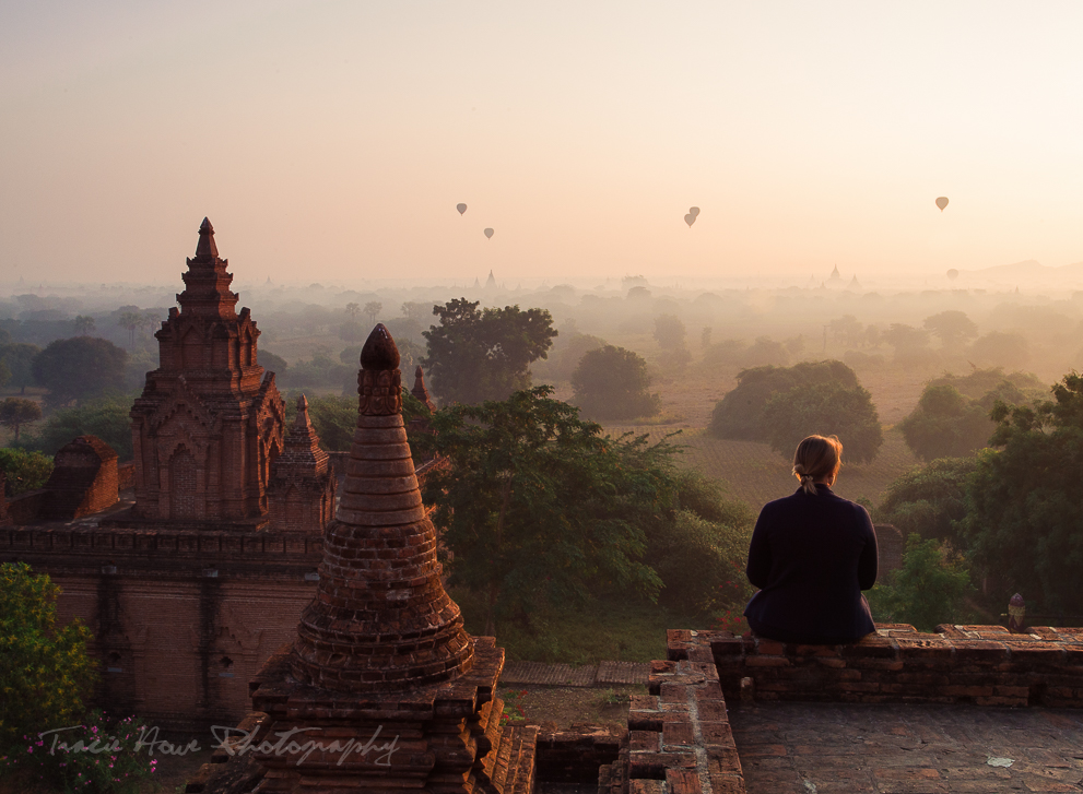 Our first Bagan sunrise temple