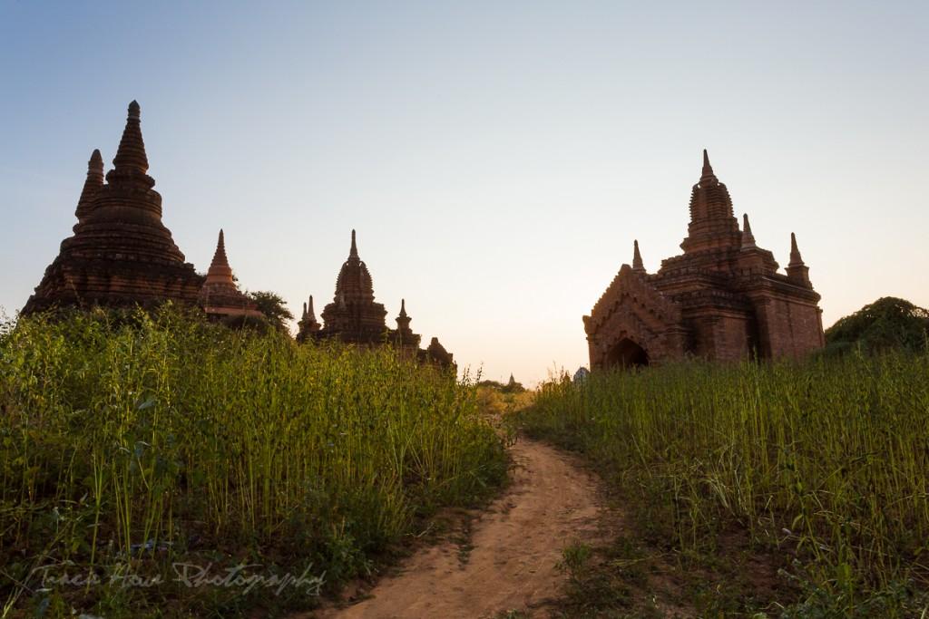 small Bagan temples