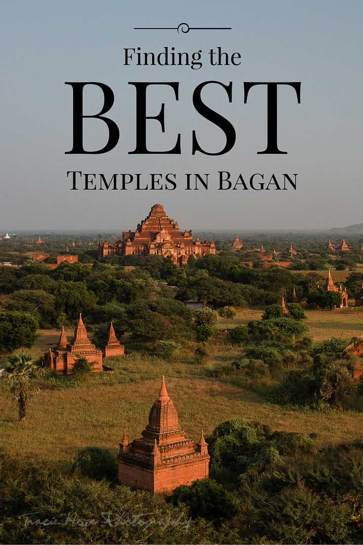 How to find the best temples in Bagan