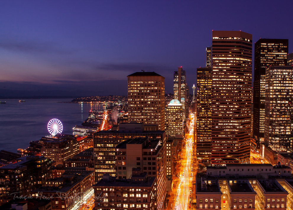 Seattle skyline from Smith Tower