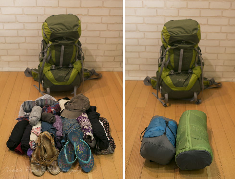 Granite Gear stuff sacks for backpacking