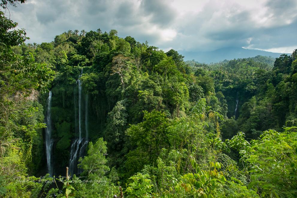 Bali itinerary waterfalls
