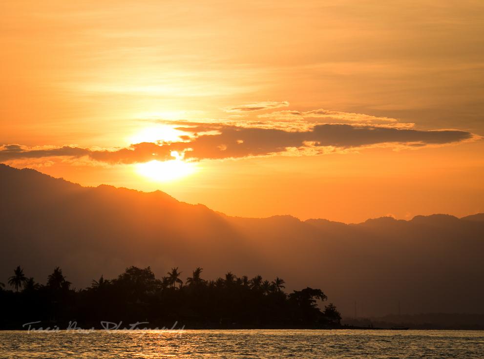 Bali sunset Lovina