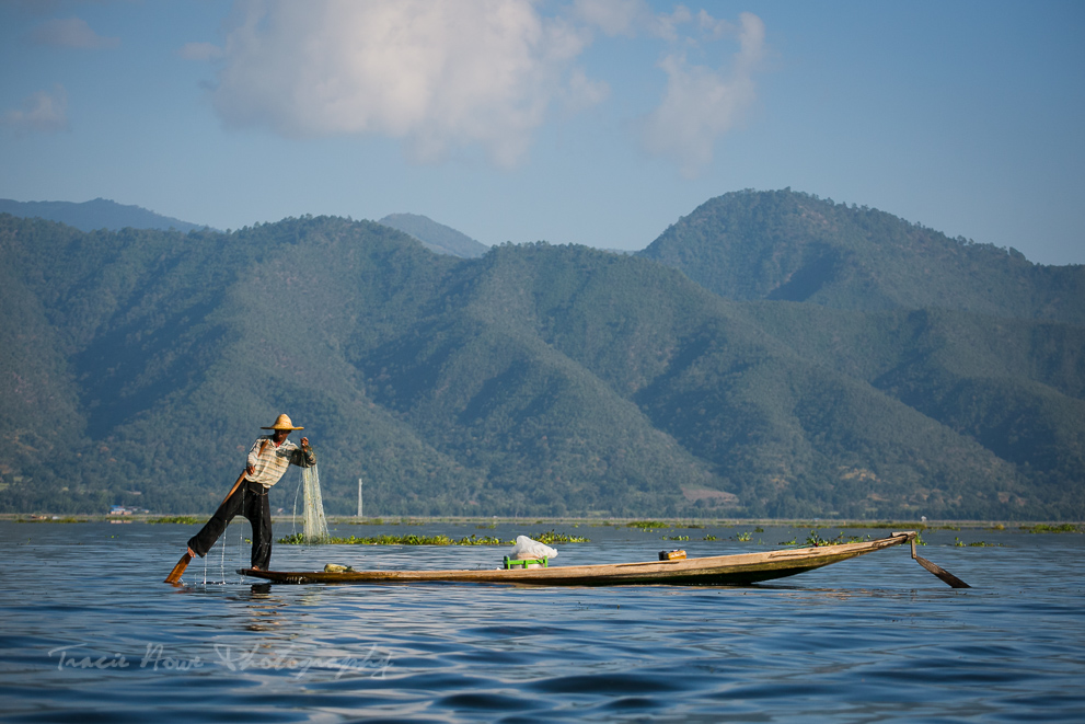 Inle fisherman - non-technical photo tips for DSLRs