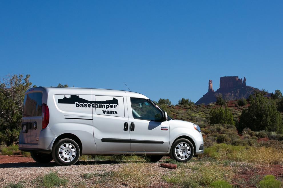 Basecamper Vans small campervan