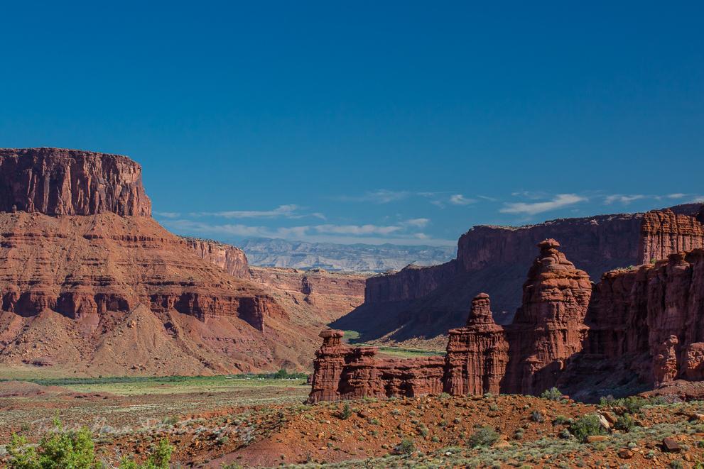 camping near Moab Utah
