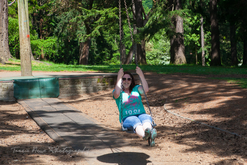 fun zip line swing Lincoln Park