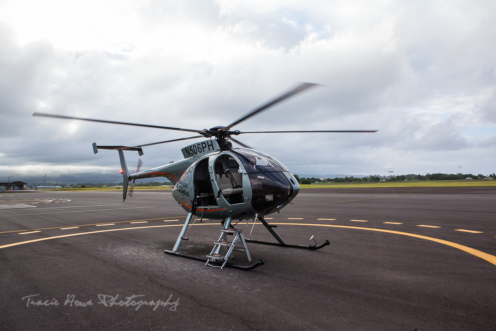 Paradise Helicopters doors off tour