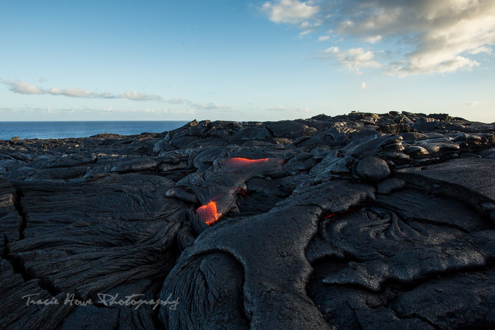 how to see lava on Hawaii island
