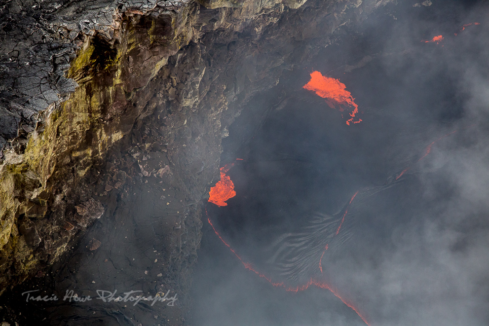 lava from helicopter tour