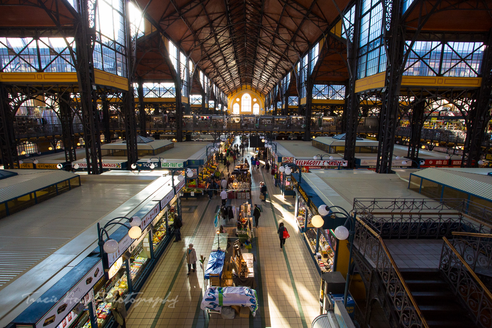 The Central Market in Budapest - Eastern European road trip