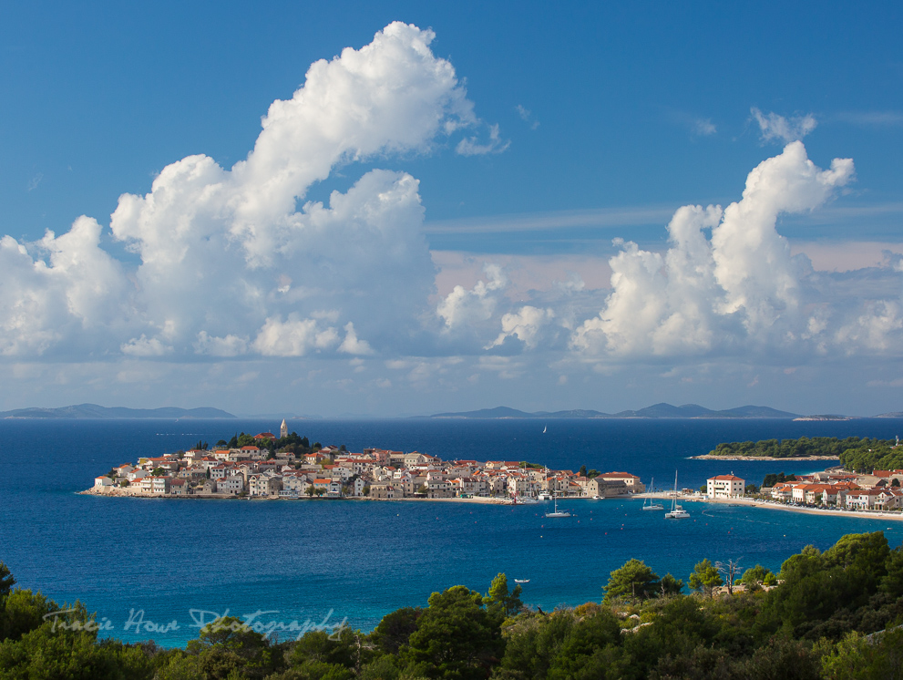 Primosten, a stunning little town on Croatia