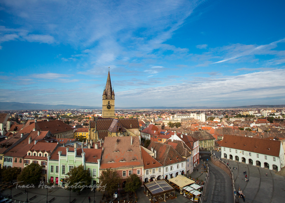 Sibiu viewpoint - Eastern European road trip