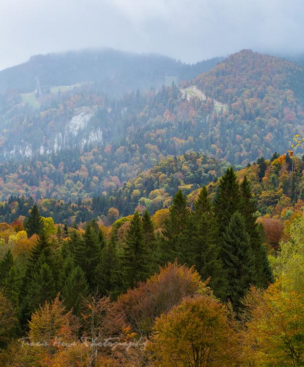 Poiana Brasov mountains Romania