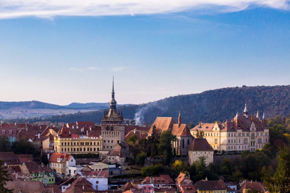 Sighisoara - best places in Transylvania for photos