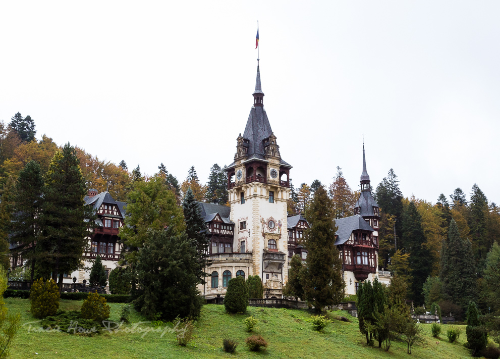 Peles Castle - best places in Transylvania for photography