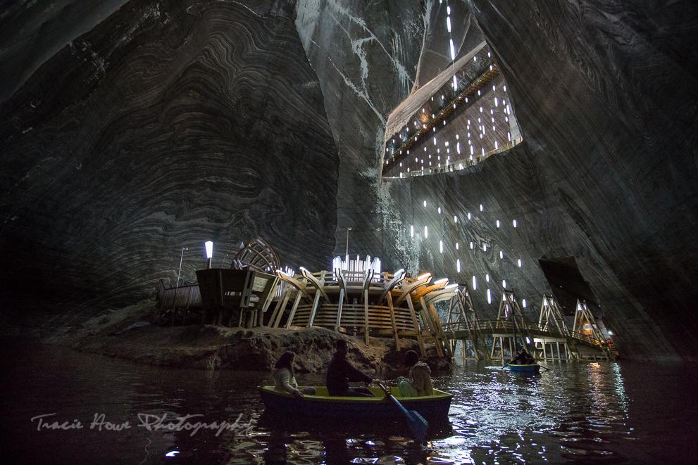 Salina Turda salt mines Transylvania