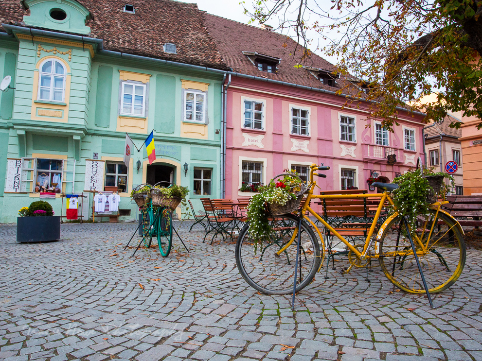 Sighsoara - best places in Transylvania for photography