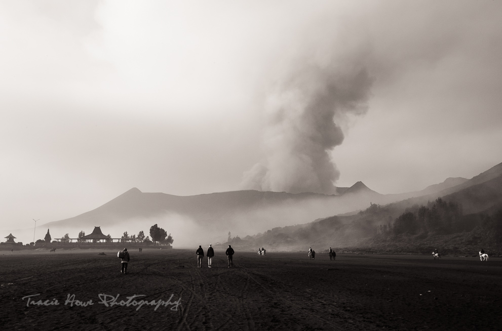 Mount Bromo after sunrise