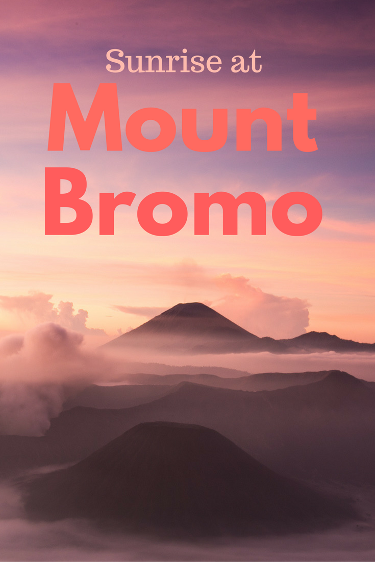 Mount Bromo sunrise - Tracie Travels